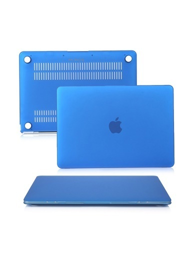 "Mcstorey MacBook Retina A1534 A1931 12"" Kılıf Kapak Koruyucu Hard Incase Mat Mavi"